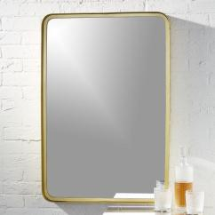 Costco Kitchen Sink How To Decorate Your Abbyson Living Alexis Rectangle Wall Mirror In Gold