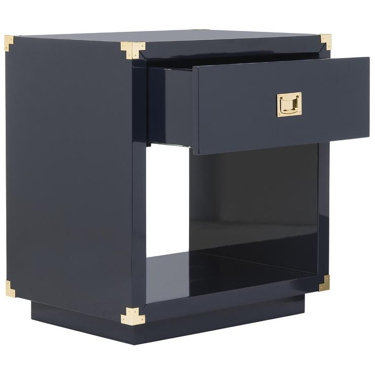 Bungalow 5 Jacqui Navy 4Drawer Chest