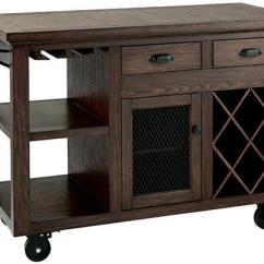 Rolling Cart For Kitchen Cabinets Showroom Cooper Wood