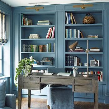 Rustic Built In Cabinets  Country  denlibraryoffice