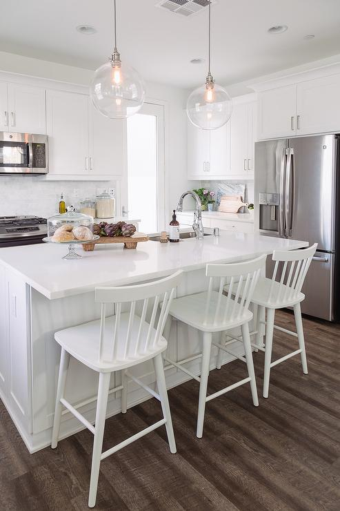 industrial kitchen island smart tv farmhouse cabinets - country phoebe howard