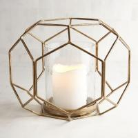 Gold Geometric Candle Holder - Products, bookmarks, design ...