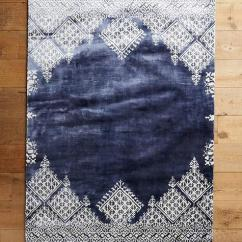 Images Of Living Room Wall Decor Desk In Apartment Moroccan Navy Blue Wool Rug - Overstock.com