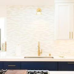 Base Kitchen Cabinets Distressed Blue Design Ideas With Brass Pulls
