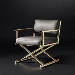 Leather Directors Chair Ergonomic Chairs North Ryde Altman Gray Gold