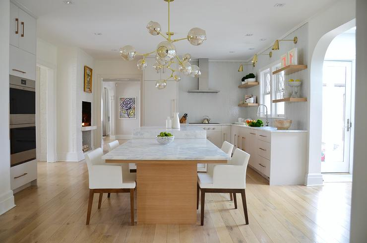 farmhouse kitchen tables different types of countertops island with drop down table design ideas