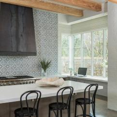 Black And White Tile Kitchen Backsplash Build Your Own Walker Zanger Duquesa Fatima Mezzanotte Design Ideas