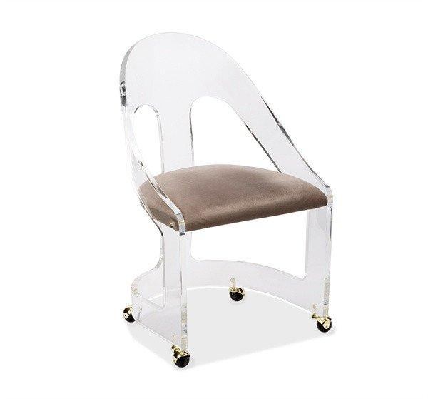 acrylic desk chair with cushion garden lounger covers kartell victoria ghost