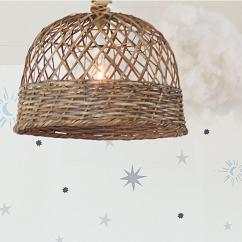 Rattan Egg Chair Hand Woven Hanging Lamp I Horchow