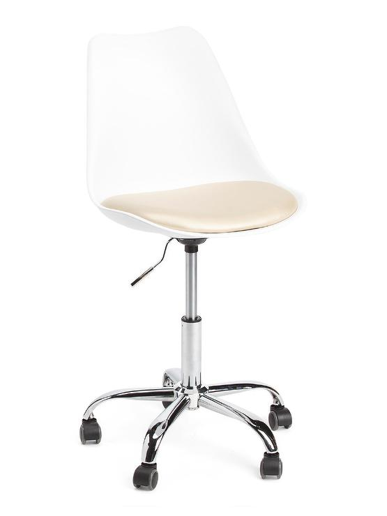 white rolling chair true innovations office gibbons metal