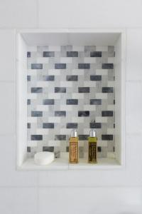 Mosaic Tiled Shower Niche Design Ideas