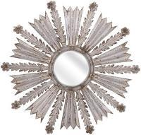 Adira Silver Starburst Mirror