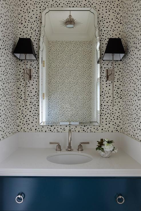 Black Animal Print Wallpaper Bathrooms Thibaut Tanzania Wallpaper Black On Cream Design