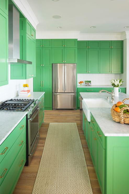 blue kitchen cabinet knobs cheap islands paint gallery - greens colors and brands design ...