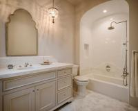 Tiled Arched Shower Alcove Design Ideas