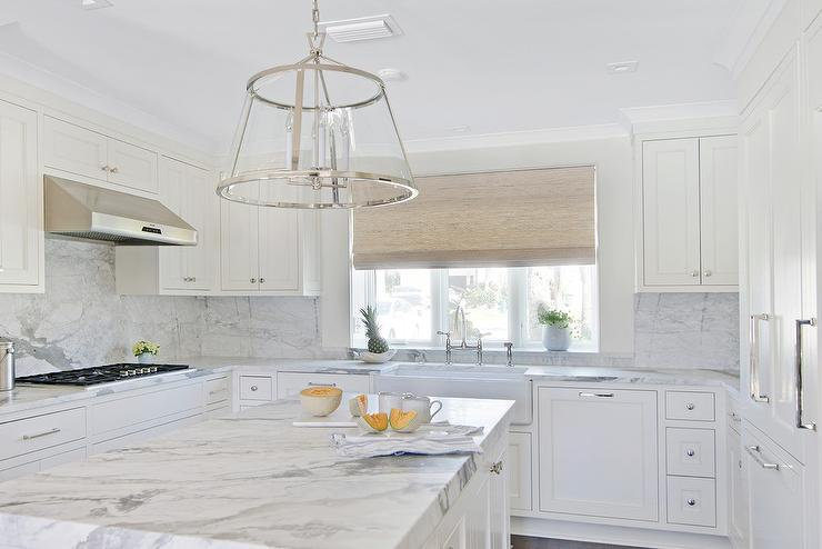 White Kitchen Hardware Ideas