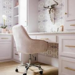 Velvet Chair Design Salon Chairs Wholesale Pink Office Desk Ideas Light Cabinets With Brass Pulls