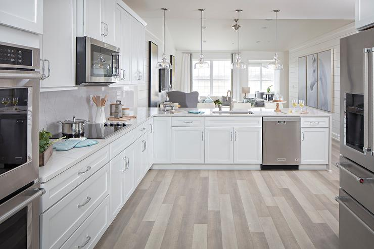 long kitchen rugs antique white island cooktop on peninsula design ideas