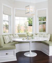 Breakfast Nook Bay Window Design Ideas