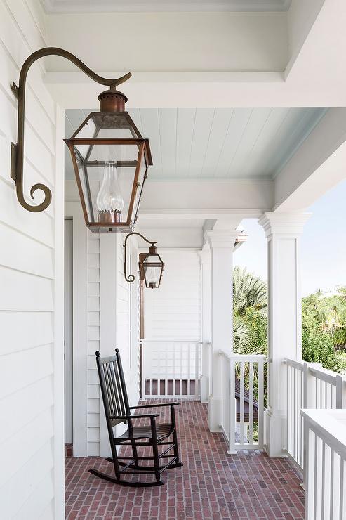 Beadboard Porch Ceiling Design Ideas