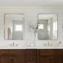 Lighting For Living Rooms Best Room Wallpaper Coffee Stained Dual Bath Vanity - Transitional Bathroom