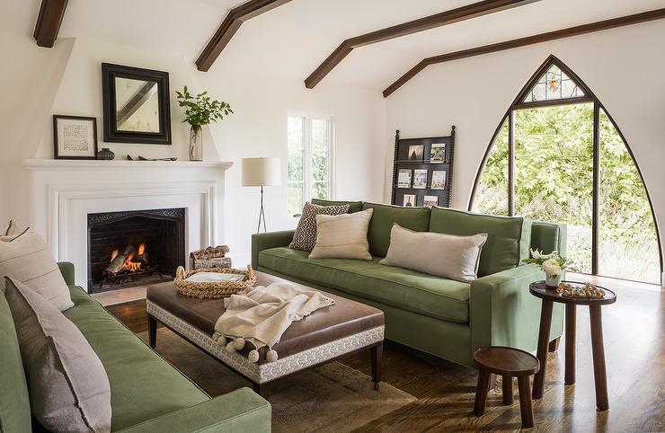 dark brown sofa with blue pillows empire sofology modern mediterranean design - living room ...