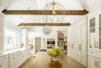 Vaulted Ceiling Beams Chandelier | Integralbook.com