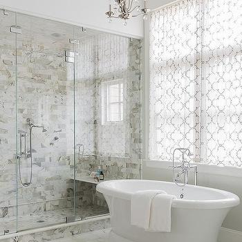 shower with moroccan tiles design ideas