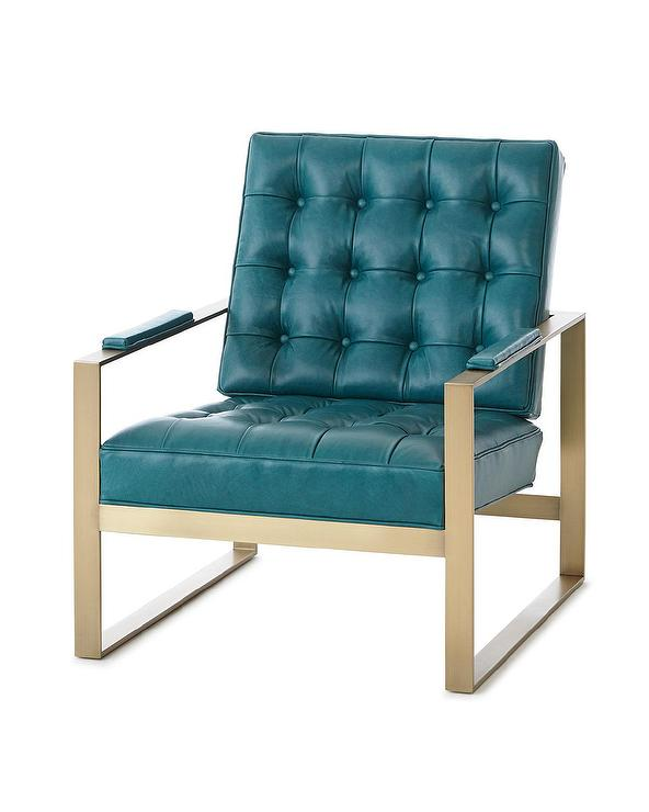 teal accent chair modern leather recliner swivel 2 dandy tufted