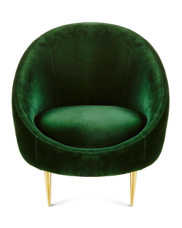 Art Deco Green Chair