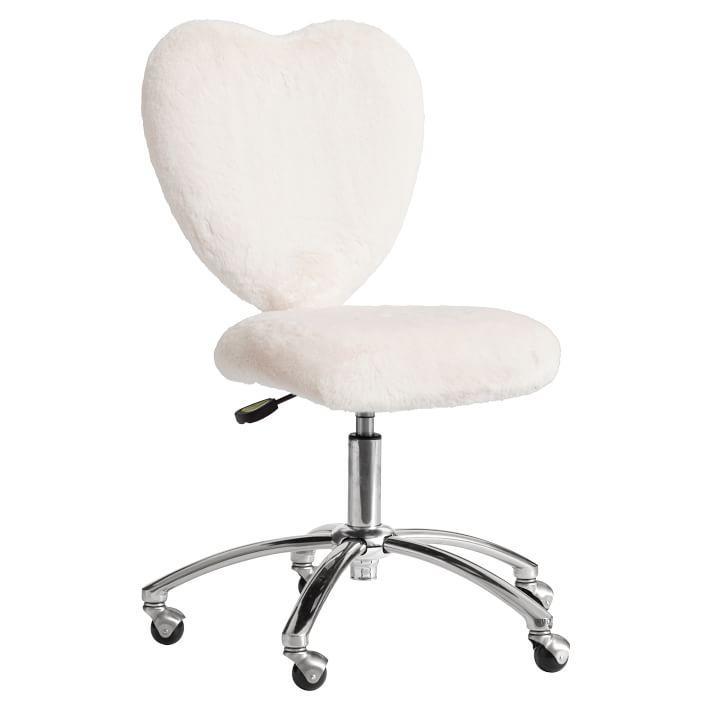 Faux Fur Desk Chair