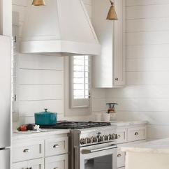 Espresso Shaker Kitchen Cabinets Healthy Dog Food White With Brass Vintage Pulls - Cottage ...