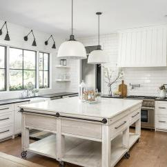 Lights For Over Kitchen Sink Led Strip In Light Gray Oak Island With Bronze Towel Rails - Cottage ...