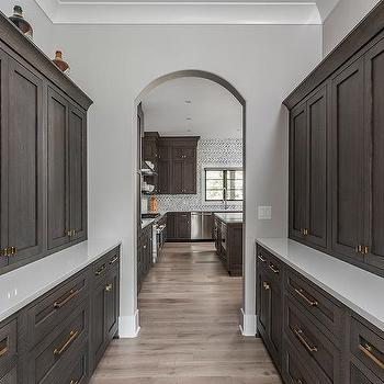 Dark Brown Cabinets Design Ideas