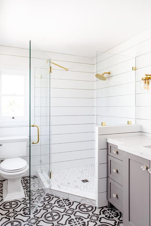 Shiplap Bathroom Walls Design Ideas  Page 1
