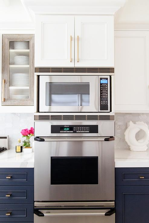microwave over oven and warming drawer