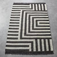 Black And White Striped Rugs. black and white striped rug