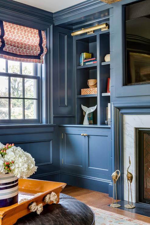Blue Living Room Walls Design Ideas