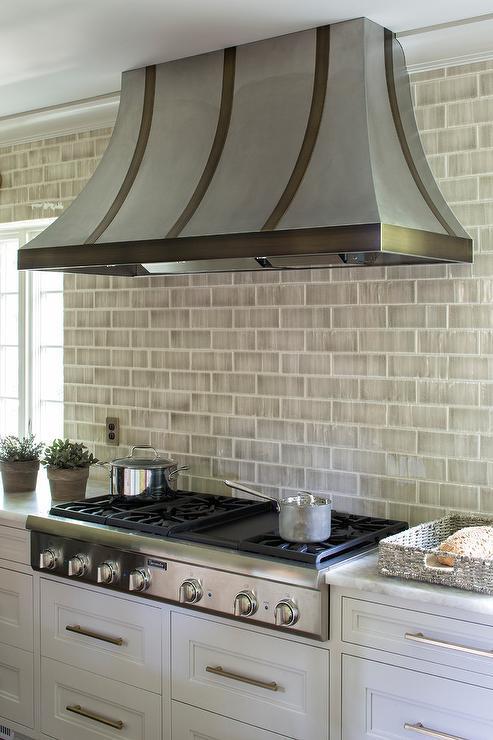 white brick kitchen subway tiles design