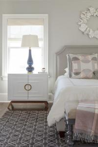 Blush Pink Pillows - French - bedroom - The Design Company