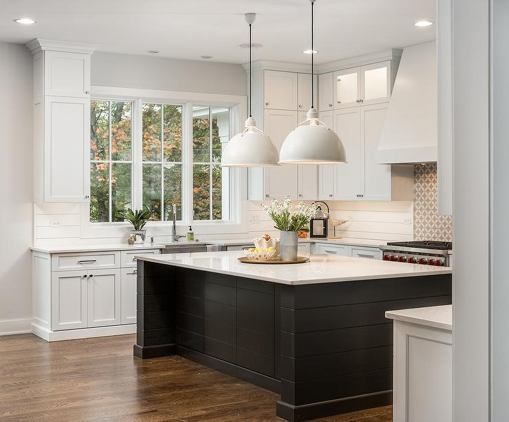 beadboard kitchen cabinets garbage can for shiplap cooktop backsplash design ideas