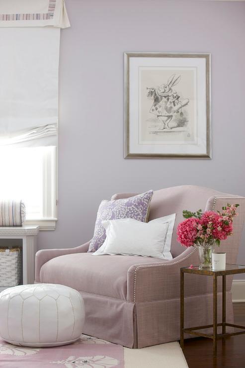lilac girls bedroom design