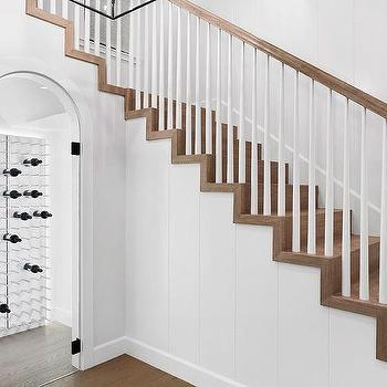door under staircase design