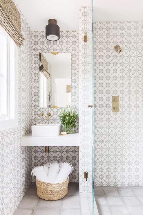 gray cement atlas tiles