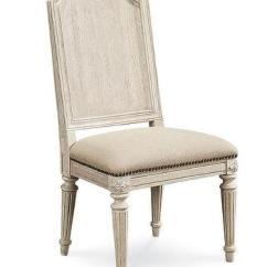 Circular Bamboo Chair Cushion Office Velvet Cream Upholstered Round Back Dining