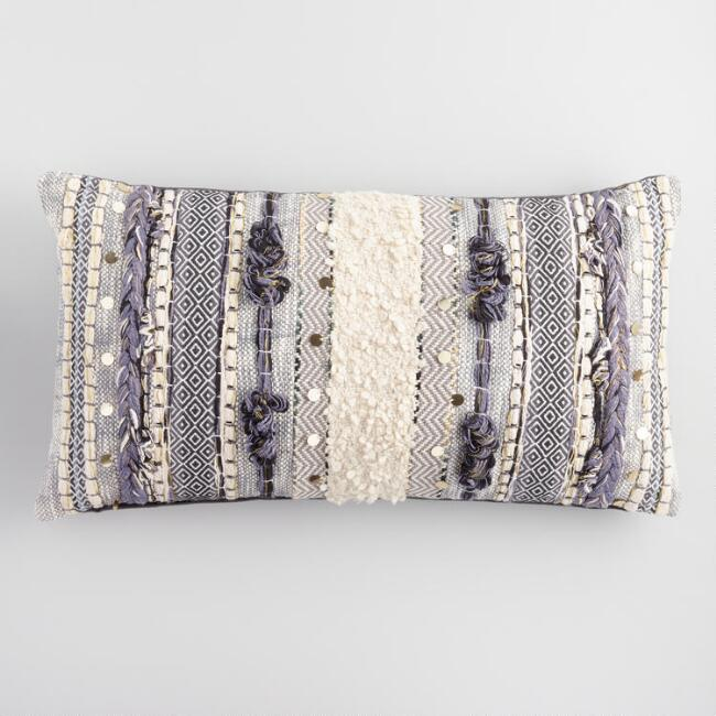 Embroidered Moroccan Lumbar Pillow  Products bookmarks