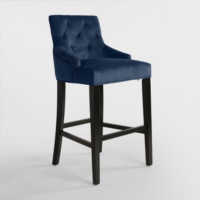 navy chair stool ergonomic office depot brass blue velvet - products, bookmarks, design, inspiration and ideas.