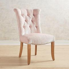 Z Gallerie Chairs Massage Chair Stand For - Montecito Tufted Side