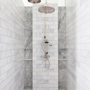 dual shower heads design ideas