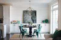 Shiplap Dining Room Accent Wall Design Ideas